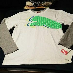 Long sleeve puma shirt